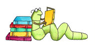 bookworm icon reading about ants, myrmecology, gardening, Greece and Greek Islands